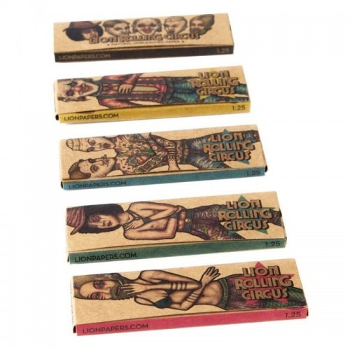 Papel Lion Rolling Circus Unbleached 1/4 (25u)