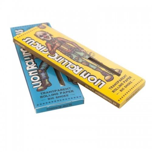 Papel Lion Rolling Circus Transparent King Size (50u)