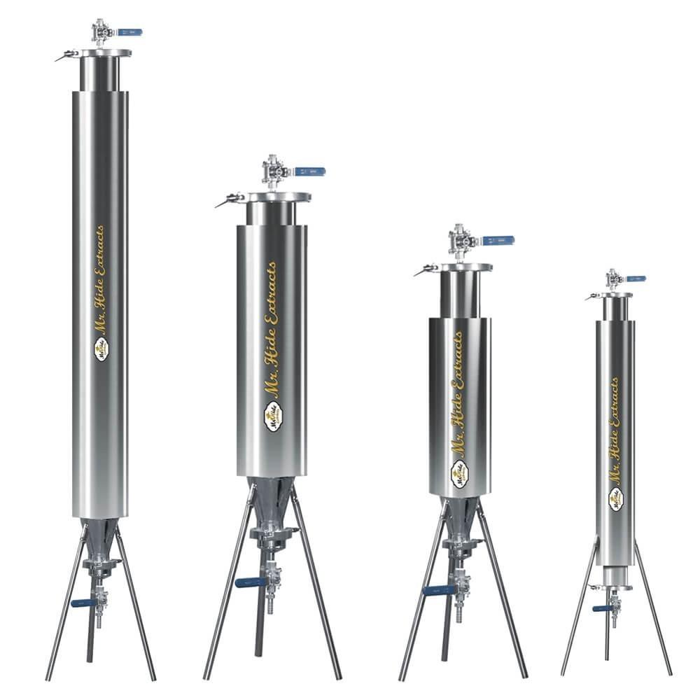 Extractor de Resina Semicerrado con Chamber
