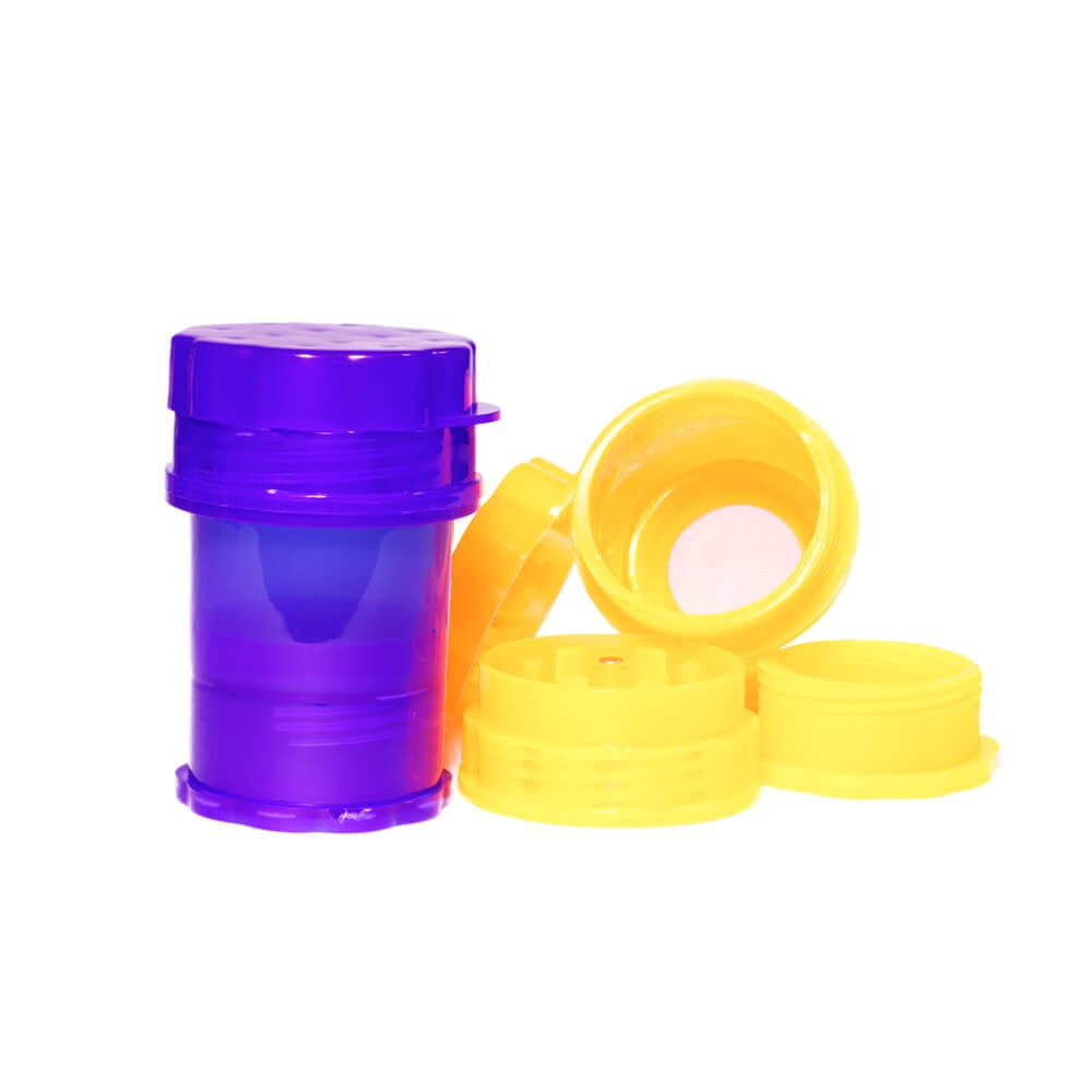 Grinder Storage Polinizador Plástico 50mm