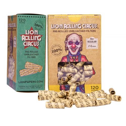 Filtros Lion Rolling Circus (120 u.)