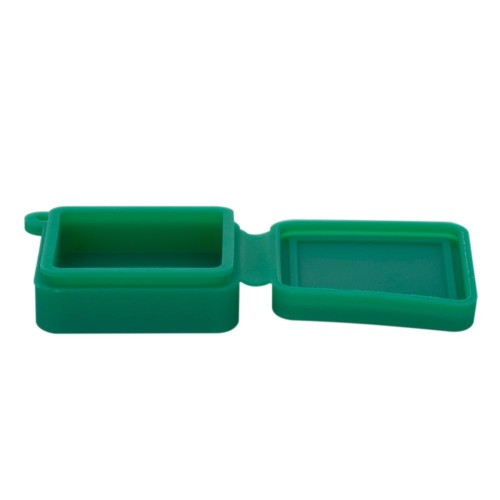 Bote Llavero Silicona Cuadrado - 9 ml