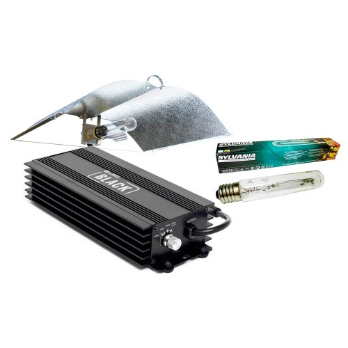 Kit 600W Lumii Black + Reflector Adjust Enforcer+ Sylvania Grolux