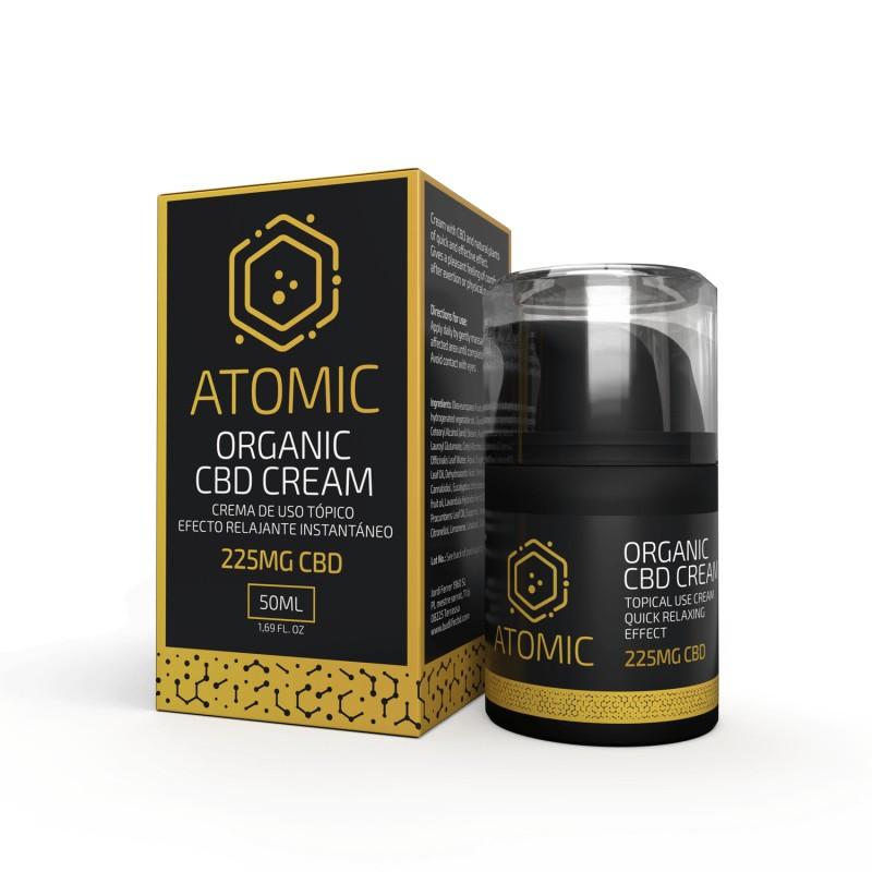 Atomic Organic CBD Cream