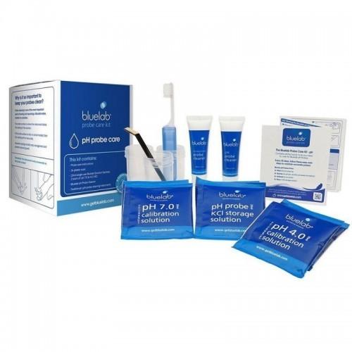 Kit de Limpieza y Calibración Bluelab PH y EC