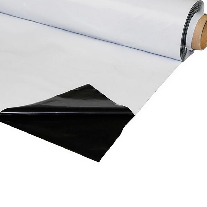 Plástico Reflect. Blanco/Negro Grueso