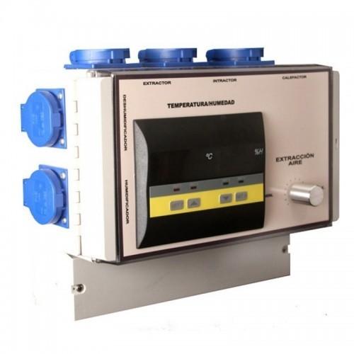 Cuadro Control de Temperatura y Humedad Novatec