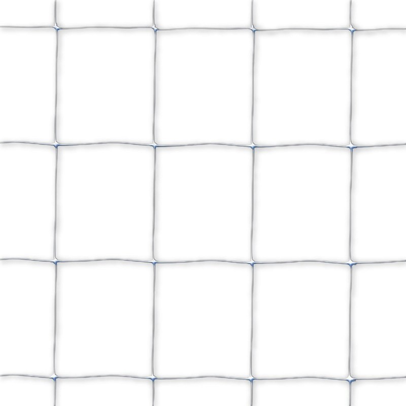 Malla de Cuadros Blanca 2x1 m