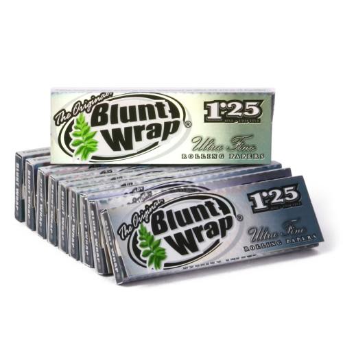 Papel Blunt Wrap Silver ultrafino (25u.)