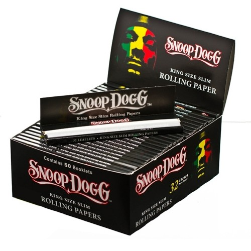 Papel Snoop Dogg king size (50u)