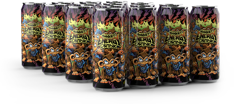Monkey Energy Drink 500ml